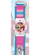 Licenced Kiddies Hsm Metal Group Velcro Strap Wrist Watch