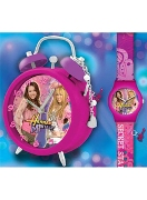 Licenced Kiddies Hm Alarm Charm & Watch Set Wrist Watch