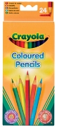 24 Full Length Col.Pencils - Min Order: 6 units