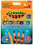 Crayola 8 Jumbo Decor. Pencils - Min Order: 1 units
