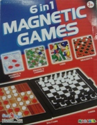 6 In 1 Magnetic Games - Min Order: 12 units