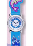 Jacques Farel Jf Boys Ocean Glow In The Dark Wrist Watch