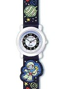 Jacques Farel Boys Glow  Active Soccer Strap Wrist Watch