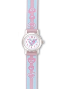 "Jacques Farel Jf Girls ""Smells Nice"" Hart St Wrist Watch"