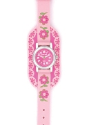 Jacques Farel Jf Smells Nice Girls Pink Stra Wrist Watch
