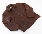 Jekyll & Hide Leather Jacket JH01 - Rust Brown, Organic Sheep (