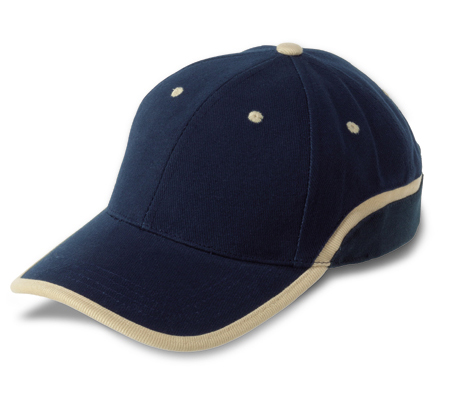 Baseball cap with adjustable velcro strap - Brushed cotton 4.5 X