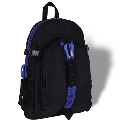 Backpack with outside pocket (55 x 33 x 20 cm)