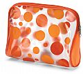 Transparent Cosmetic bag - Lime or Orange