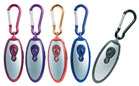 Keyring with FM radio, torch and earphones - Ass colors