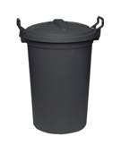 Dustbin 120 Litre - Black