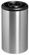 Midi Bin with Rim Lid - Stainless Steel