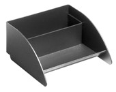 Modern Business Card Holder - Black
