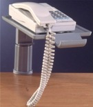 Telephone Swivel Stand with Clamp Fix - Grey