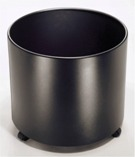 Standard Planter, Solid - Black