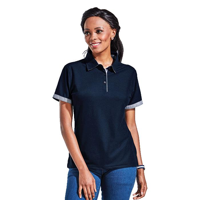 Barron Ladies Pulse Golfer - Avail in: Black, Navy, Red or Royal