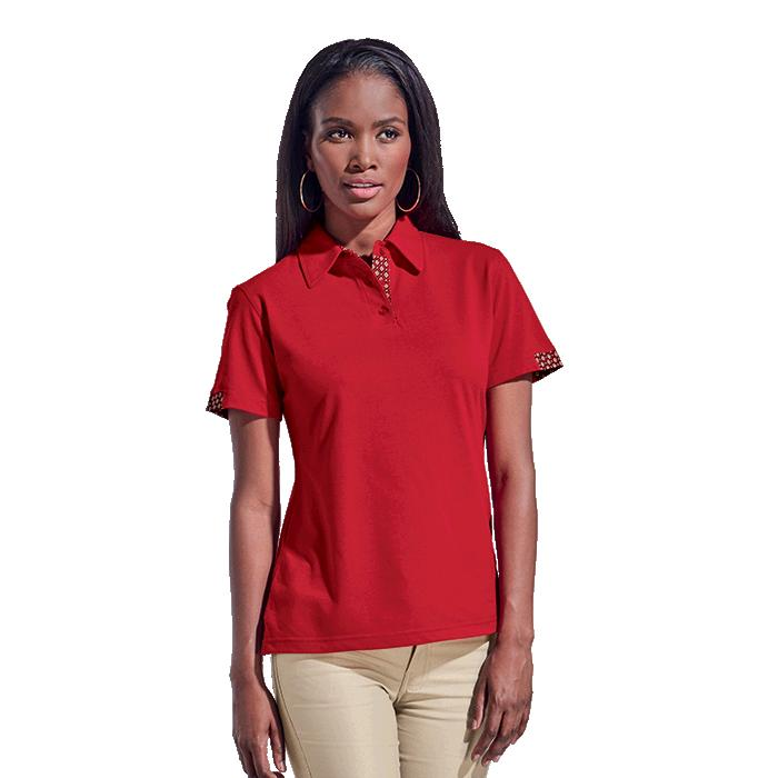 Barron Ladies Tebello Golfer - Avail in: Navy/Navy, Red/Red or W