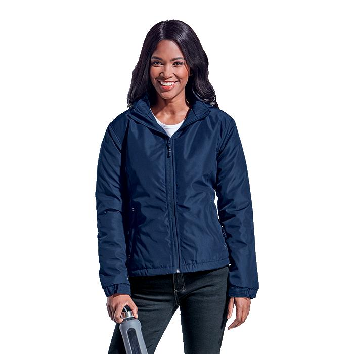 Barron Ladies Cooper Jacket - Avail in: Black/Silver or Navy/Sil