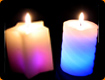 Circular Colour Changing Candles