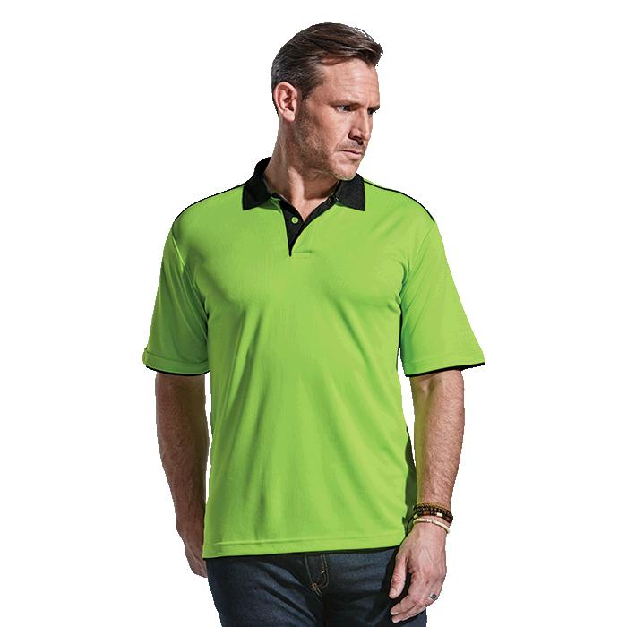 Barron Mens Leisure Golfer - Avail in: Black/Red, Lime/Black orW
