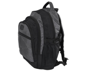 Leisure Backpack - Avail in: Black/Red, Black/Grey