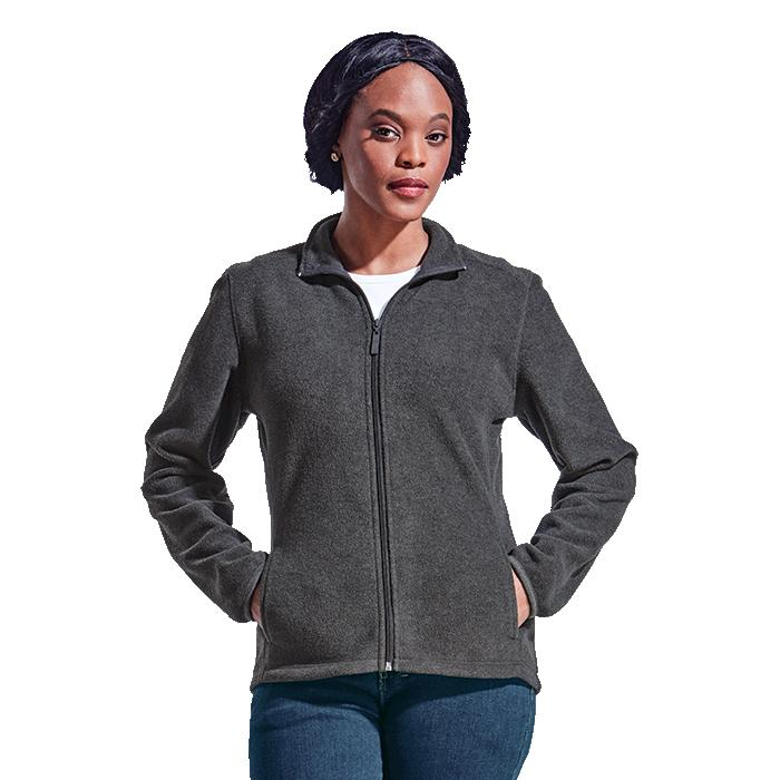Barron Ladies Hybrid Fleece - Avail in: Black, Bottle Green, Cam