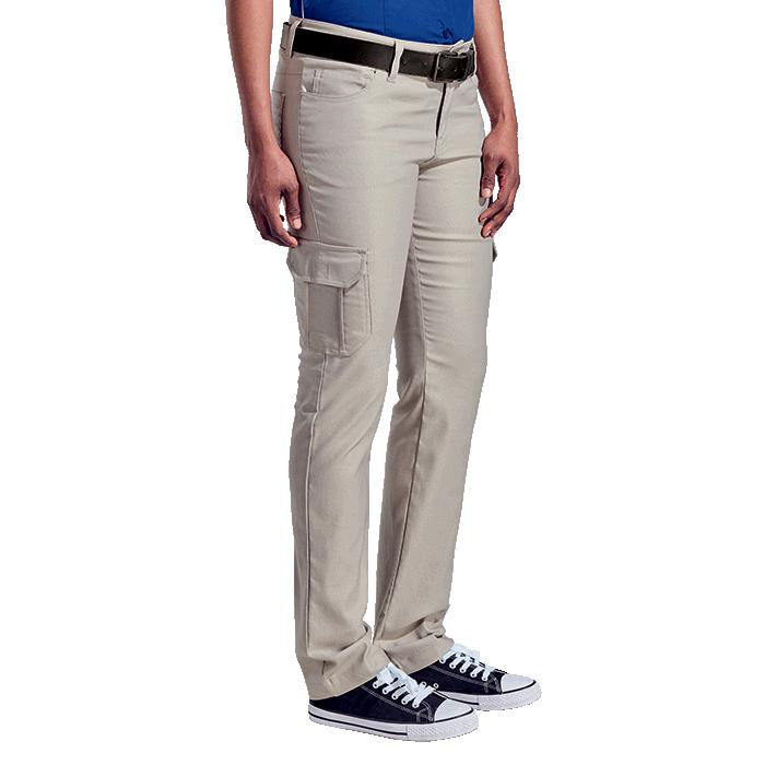 Barron Ladies Stretch Cargo Pants - Avail in: Black, Navy Blue o