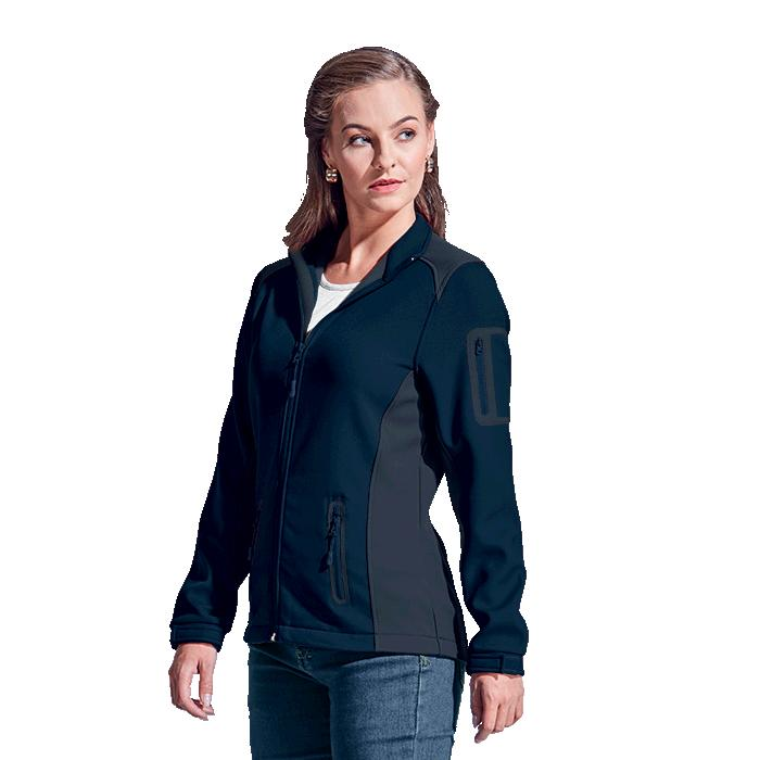 Barron Ladies Pegasus Jacket - Avail in: Black/Granite, Navy/Gra