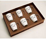 Mocca Ceramic Mug Set