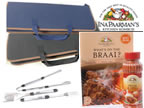 3 Piece Bbq Set - Ina Paarman - Navy