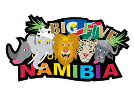 Namibia Big5 International Magnet - Min order 50 units.