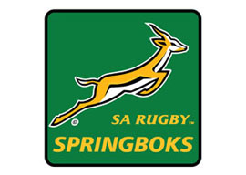 Springbok Coasters - 4 in a Pack  Rugby Coasters - Min order 50