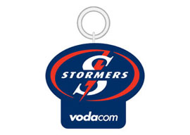 Stormers KeyRing Rugby Keyrings - Min order 50 units.
