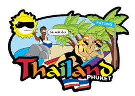 Phuket Beach International Magnet - Min order 50 units.