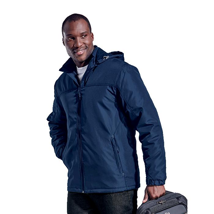Barron Mens Cooper Jacket - Avail in: Black/Silver or Navy/Silve