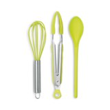 Silicone kitchen tools - Available in: Blue , Orange , Lime