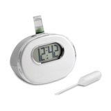 Water desk clock - Eco Friendly - Available in: White