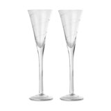 Set of 2 champagne glass - Available in: Transparent