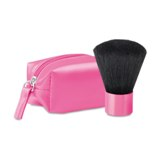 make-up brush in trans pvc box  - Available in: Blue , White , O