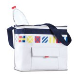 Marine beach cooler bag  - Available in: White