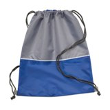 Duffle bag in 190T polyester  - Available in: Blue , Red , Orang