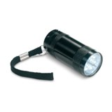 mini torch with lanyard  - Available in: Black , Blue , Matt Sil