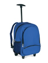 Backpack trolley for children in 600D polyester. It include a ma