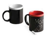 Leave a Message Chalk Mug - Available many different colours