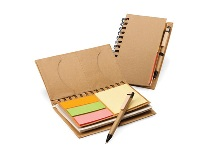 Mini Eco Notebook with Sticky notes & Pen