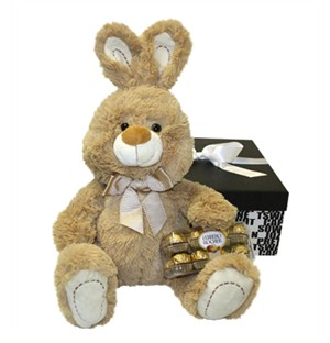 Easter Hop Teddy Bear Hamper