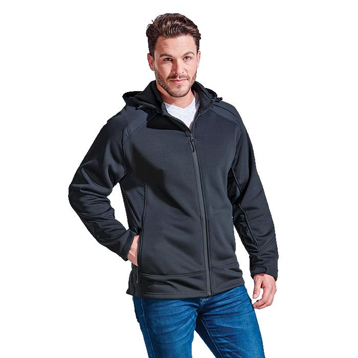 Barron Mens Nevada Jacket - Avail in: Black, Charcoal or Navy