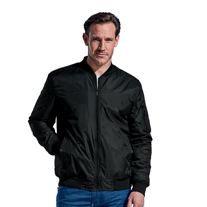 Barron Mens Orlando Jacket - Avail in: Black or Charcoal