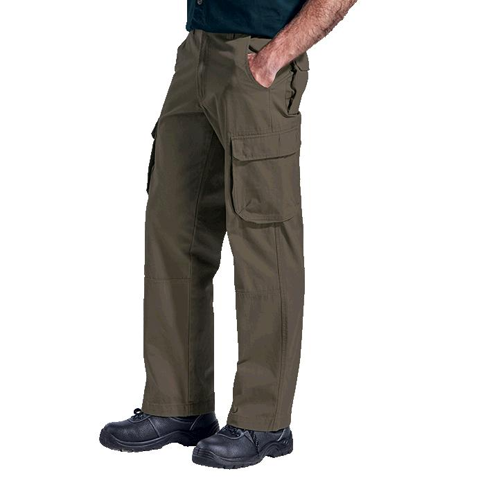 Barron Mens Cargo Pants - Avail in: Black, Kalahari, Moss, Navy