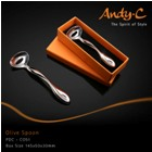 Andy C Pod Chrome Olive Spoon